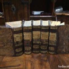 Libros antiguos: AVENTURAS DE GIL BLAS DE SANTILLANA 1930 5 TOMOS. Lote 98548384
