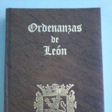 Libros antiguos: ORDENANZAS DE LEON - 1996. Lote 99658915