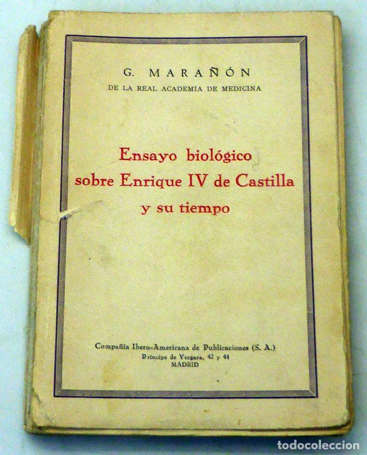 ensayo biológico sobre enrique iv castilla y su - Comprar Libros ...