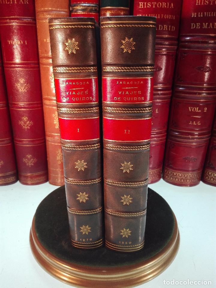 HISTORIA DEL DESCUBRIMIENTO DE LAS REGIONES AUSTRIALES - PEDRO FERNANDEZ DE QUIRÓS - 2 TOMOS - 1876 (Libros antiguos (hasta 1936), raros y curiosos - Historia Moderna)