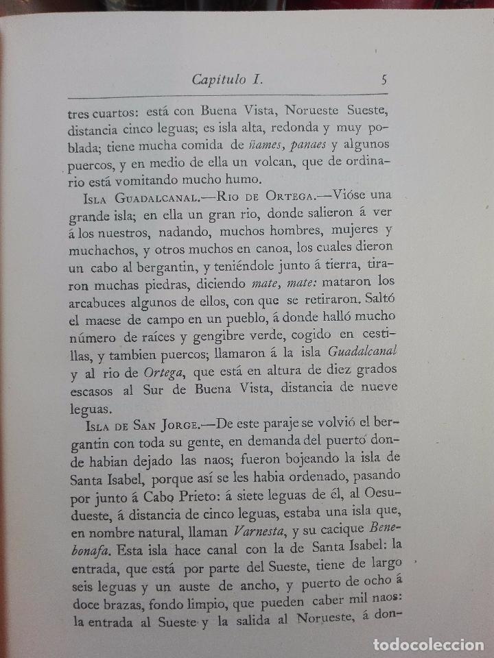 Libros antiguos: HISTORIA DEL DESCUBRIMIENTO DE LAS REGIONES AUSTRIALES - PEDRO FERNANDEZ DE QUIRÓS - 2 TOMOS - 1876 - Foto 5 - 100473423