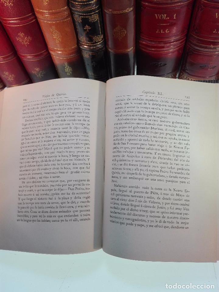 Libros antiguos: HISTORIA DEL DESCUBRIMIENTO DE LAS REGIONES AUSTRIALES - PEDRO FERNANDEZ DE QUIRÓS - 2 TOMOS - 1876 - Foto 6 - 100473423