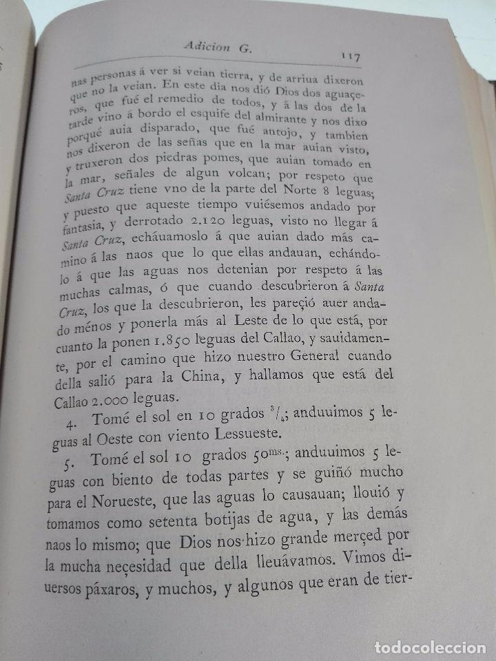Libros antiguos: HISTORIA DEL DESCUBRIMIENTO DE LAS REGIONES AUSTRIALES - PEDRO FERNANDEZ DE QUIRÓS - 2 TOMOS - 1876 - Foto 8 - 100473423