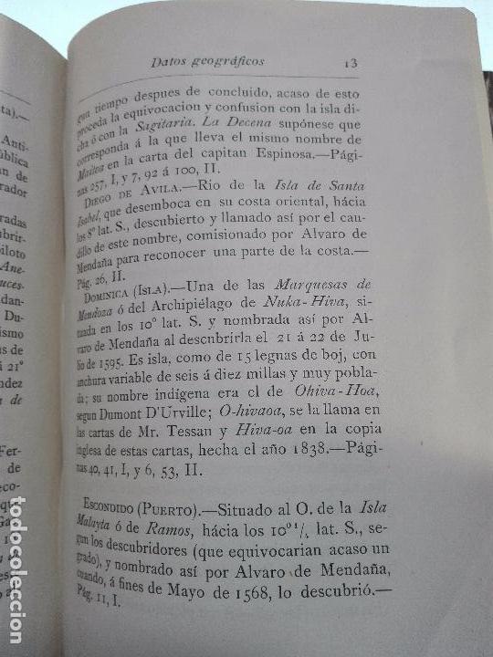 Libros antiguos: HISTORIA DEL DESCUBRIMIENTO DE LAS REGIONES AUSTRIALES - PEDRO FERNANDEZ DE QUIRÓS - 2 TOMOS - 1876 - Foto 10 - 100473423