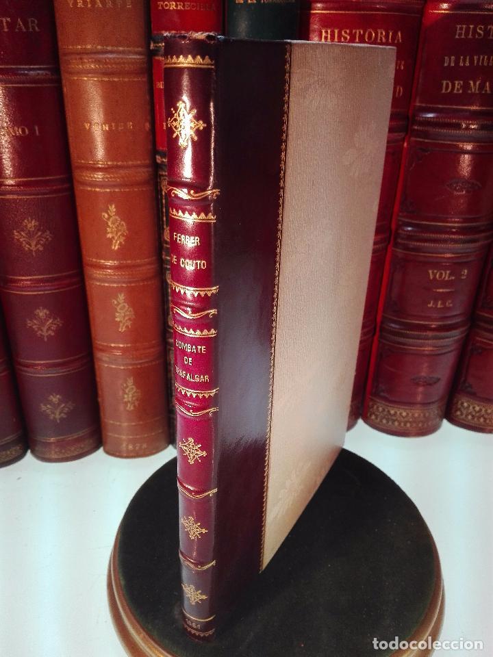 HISTORIA DEL COMBATE NAVAL DE TRAFALGAR - DON JOSÉ FERRER DE COUTO - MADRID - 1851 - (Libros antiguos (hasta 1936), raros y curiosos - Historia Moderna)
