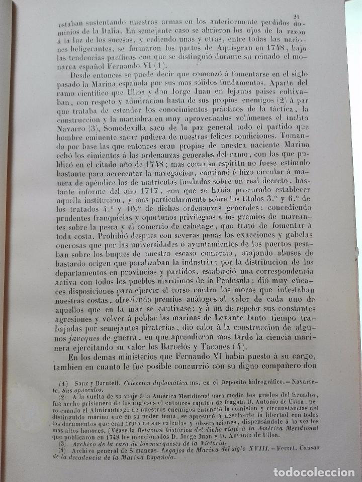 Libros antiguos: HISTORIA DEL COMBATE NAVAL DE TRAFALGAR - DON JOSÉ FERRER DE COUTO - MADRID - 1851 - - Foto 4 - 100473487