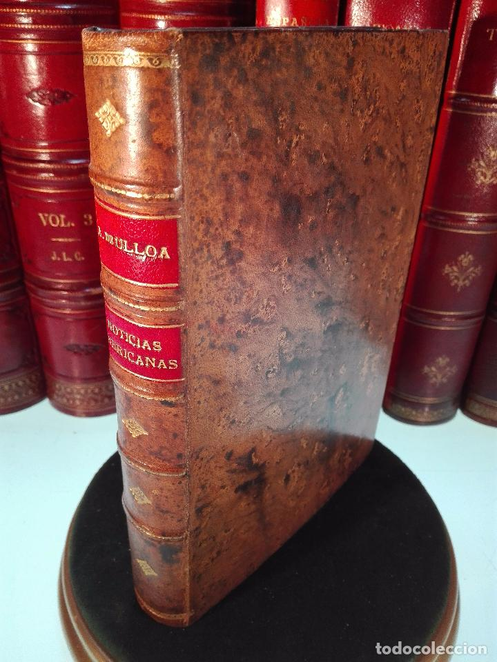 NOTICIAS AMERICANAS - ENTRETENIMIENTO PHISICOS-HISTORICOS - DON ANTONIO DE ULLOA - MADRID - 1772 - (Libros antiguos (hasta 1936), raros y curiosos - Historia Moderna)