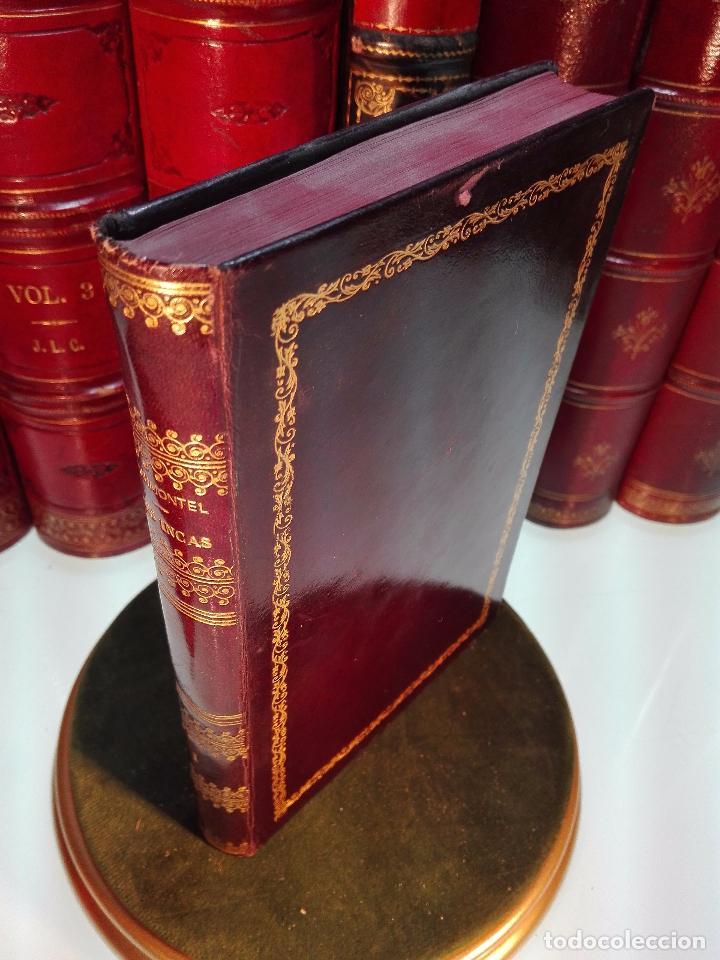Libros antiguos: LES INCAS OU LA DESTRUCTION DE LEMPIRE DU PÉROU - 2 TOMOS - M. MARMONTEL - PARIS - 1777 - - Foto 2 - 101121495