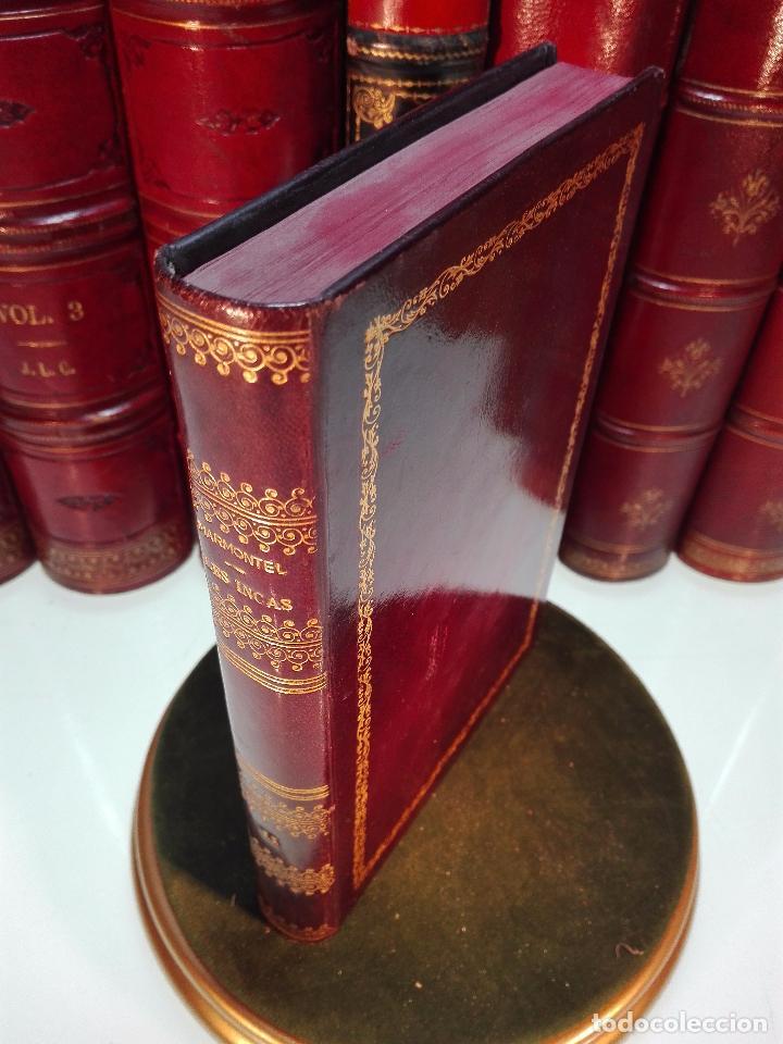Libros antiguos: LES INCAS OU LA DESTRUCTION DE LEMPIRE DU PÉROU - 2 TOMOS - M. MARMONTEL - PARIS - 1777 - - Foto 9 - 101121495