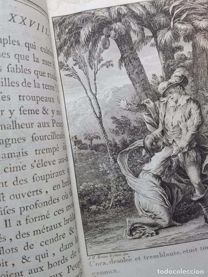 Libros antiguos: LES INCAS OU LA DESTRUCTION DE LEMPIRE DU PÉROU - 2 TOMOS - M. MARMONTEL - PARIS - 1777 - - Foto 12 - 101121495