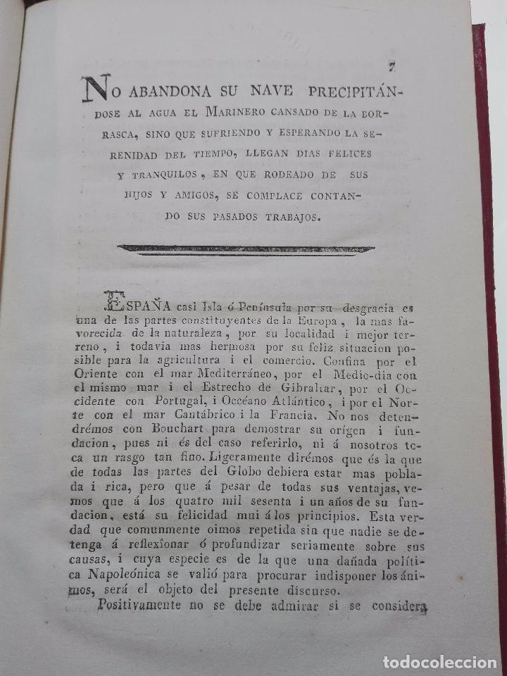 Libros antiguos: MEMORIA HISTÓRICA DEL PUEBLO GADITANO - J.G. - IMPRENTA DE LA CASA DE MISERICORDIA - 1817 - - Foto 4 - 101274831