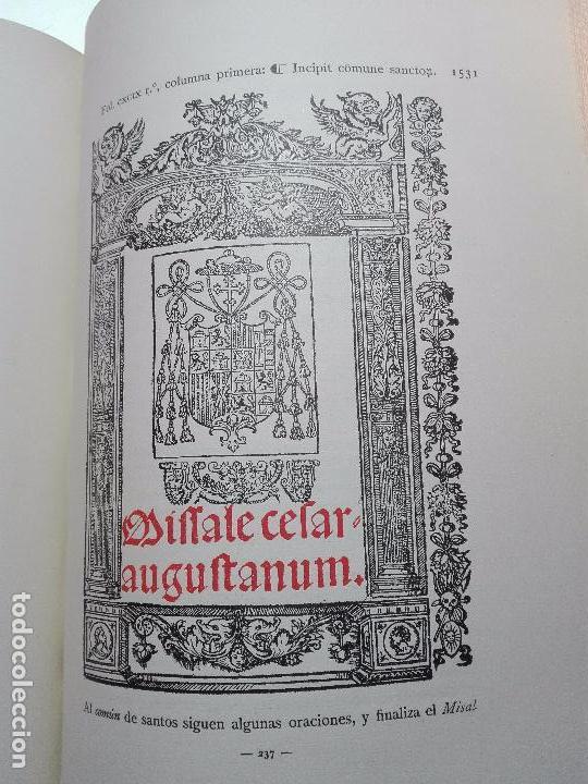 Libros antiguos: BIBLIOGRAFÍA ARAGONESA DEL SIGLO XVI ( 1501-1550 ) - JUAN M. SÁNCHEZ - 2 TOMOS - MADRID - 1913 - - Foto 7 - 101315547