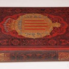 Libros antiguos: ESPAÑA CATALUÑA SUS MONUMENTOS Y ARTES, T. 1, 1884, PABLO PIFERRER Y FRANCISCO PI MARGALL. 18X24,5CM. Lote 101353263