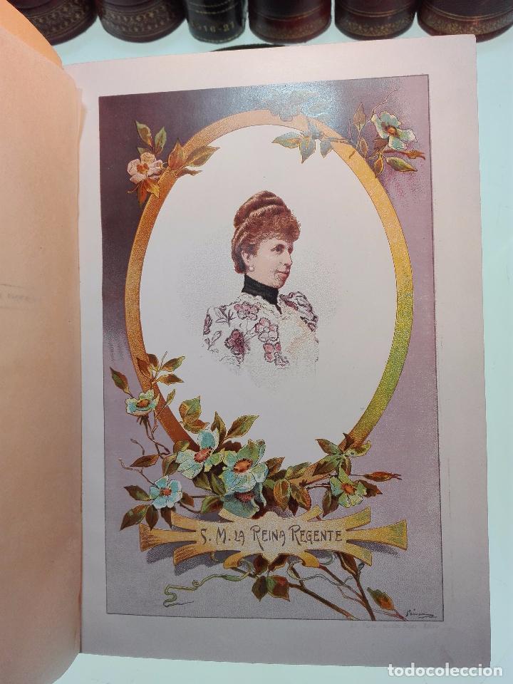 Libros antiguos: HISTORIA DE LA REGENCIA DE Dª Mª CRISTINA - D. JUNA ORTEGA RUBIO - 5 TOMOS - MADRID -1905 - - Foto 7 - 101470471