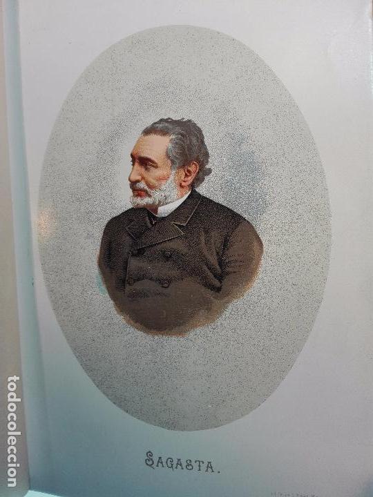Libros antiguos: HISTORIA DE LA REGENCIA DE Dª Mª CRISTINA - D. JUNA ORTEGA RUBIO - 5 TOMOS - MADRID -1905 - - Foto 9 - 101470471
