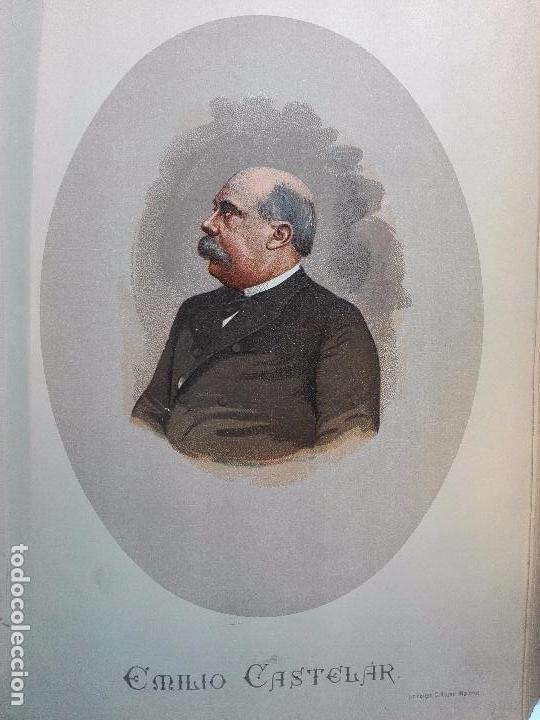 Libros antiguos: HISTORIA DE LA REGENCIA DE Dª Mª CRISTINA - D. JUNA ORTEGA RUBIO - 5 TOMOS - MADRID -1905 - - Foto 10 - 101470471