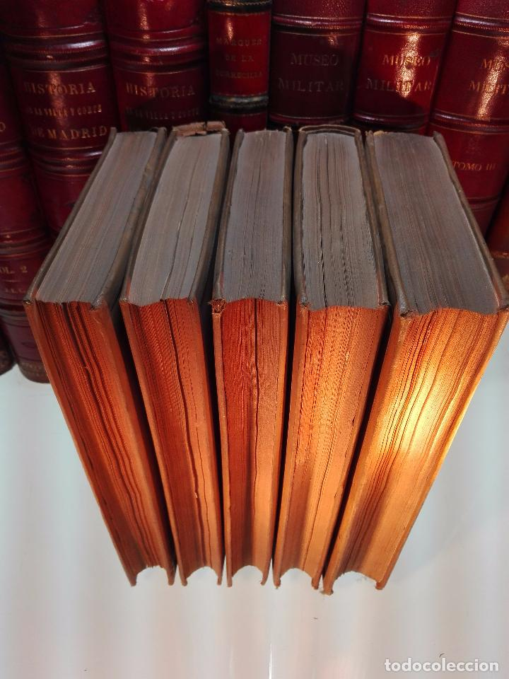 Libros antiguos: HISTORIA DE LA REGENCIA DE Dª Mª CRISTINA - D. JUNA ORTEGA RUBIO - 5 TOMOS - MADRID -1905 - - Foto 13 - 101470471