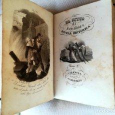 Libros antiguos: LIBRO LAS RUINAS DE SANTA ENGRACIA O EL SITIO DE ZARAGOZA,AÑO 1841,GUERRA FRANCES NAPOLEON BONAPARTE. Lote 101700287