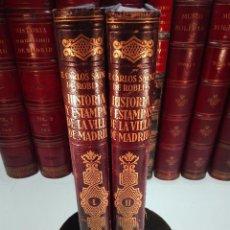 Libros antiguos: HISTORIA Y ESTAMPAS DE LA VILLA DE MADRID - FEDERICO CARLOS SAINZ ROBLES - BARCELONA - 1933 -. Lote 102057459