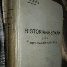Libros antiguos: HISTORIA DE ESPAÑA Y DE LA CIVILIZACION ESPAÑOLA.1911,R.ALTAMIRA,TOMO III,2ª EDIC.LA CASA DE AUSTRIA. Lote 102107823