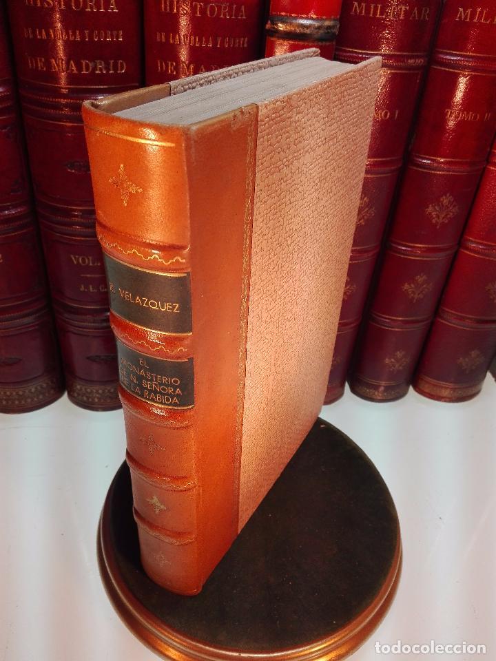 EL MONASTERIO DE NUESTRA SEÑORA DE LA RÁBIDA - RICARDO VELÁZQUEZ BOSCO - MADRID - 1914 - (Libros antiguos (hasta 1936), raros y curiosos - Historia Moderna)
