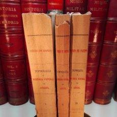 Libros antiguos: TOPOGRAFÍA E HISTORIA GENERAL DE ARGEL - FRAY DIEGO DE HAEDO - 3 TOMOS - MADRID - 1927 - BIBLIÓFILOS. Lote 102669907