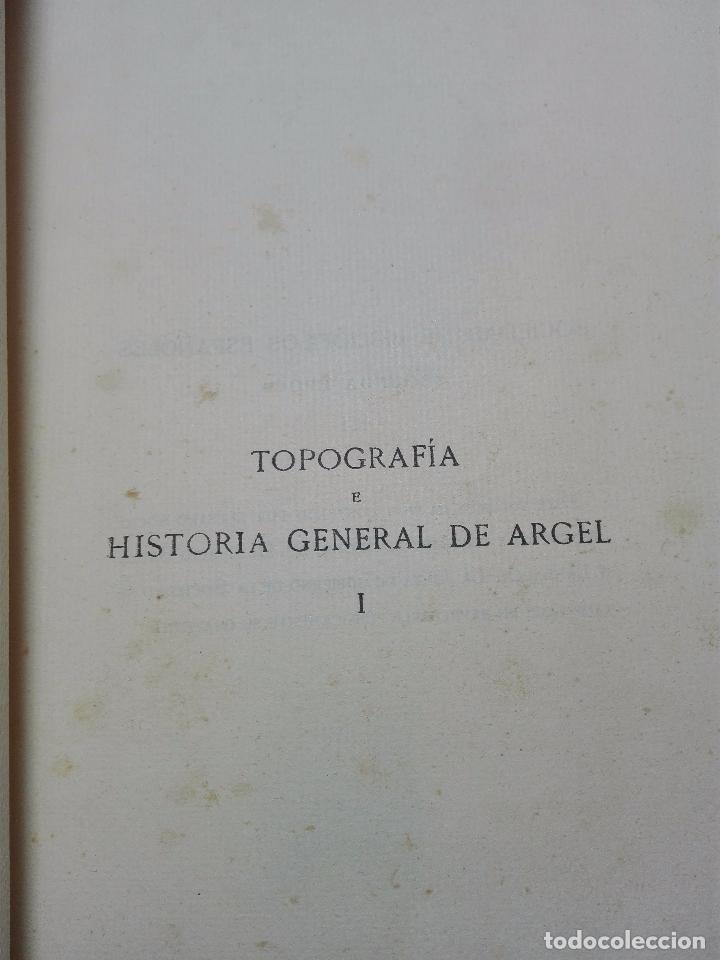 Libros antiguos: TOPOGRAFÍA E HISTORIA GENERAL DE ARGEL - FRAY DIEGO DE HAEDO - 3 TOMOS - MADRID - 1927 - BIBLIÓFILOS - Foto 3 - 102669907