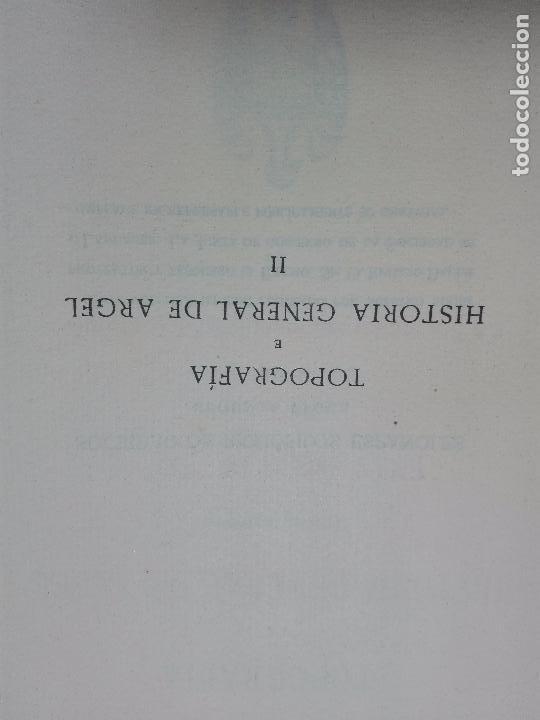 Libros antiguos: TOPOGRAFÍA E HISTORIA GENERAL DE ARGEL - FRAY DIEGO DE HAEDO - 3 TOMOS - MADRID - 1927 - BIBLIÓFILOS - Foto 10 - 102669907