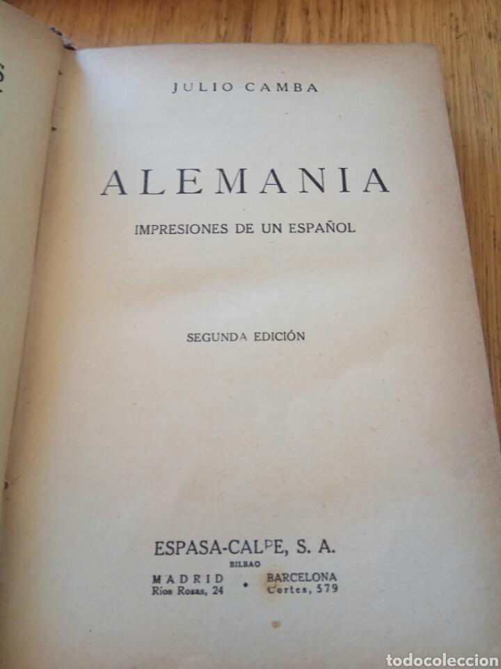 alemania julio cambra impresiones de un español - Comprar Libros ...