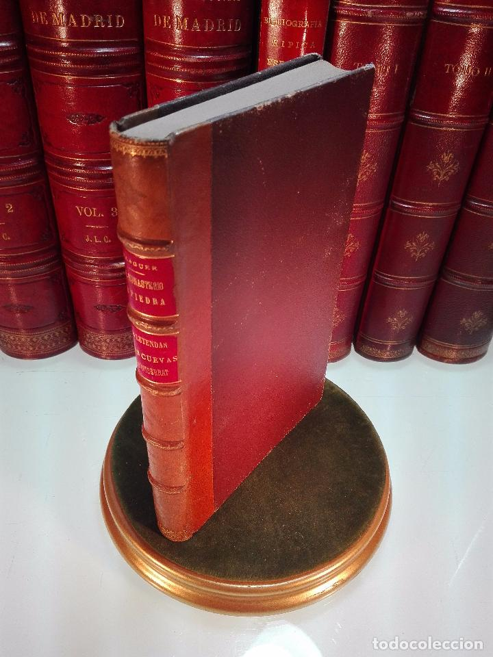 EL MONASTERIO DE PIEDRA-LAS LEYENDAS DEL MONTSERRAT-LAS CUEVAS DE MONTSERRAT- VÍCTOR BALAGUER - 1885 (Libros antiguos (hasta 1936), raros y curiosos - Historia Moderna)