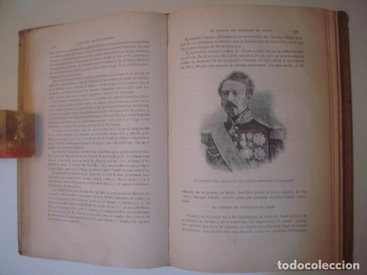 Libros antiguos: LIBRERIA GHOTICA. MOLTKE. HISTORIA DE LA GUERRA FRANCO-ALEMANA. 1870-71. FOLIO.MONTANER Y SIMON.1891 - Foto 4 - 103780551