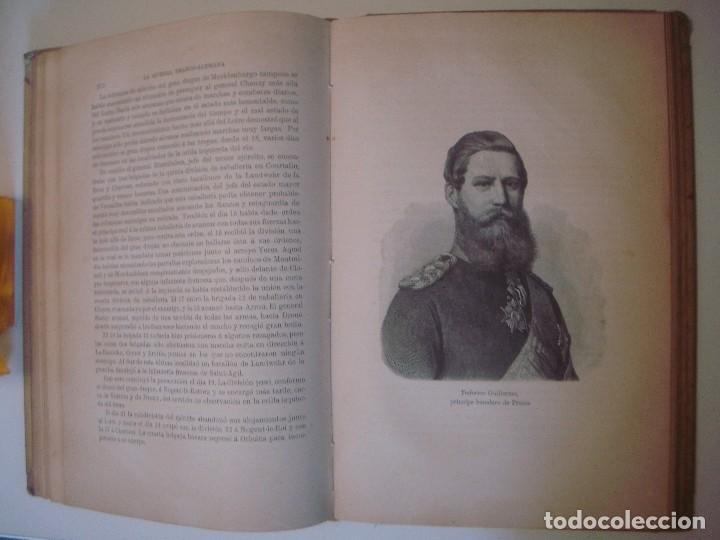 Libros antiguos: LIBRERIA GHOTICA. MOLTKE. HISTORIA DE LA GUERRA FRANCO-ALEMANA. 1870-71. FOLIO.MONTANER Y SIMON.1891 - Foto 5 - 103780551