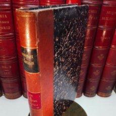 Libros antiguos: ESTADO SOCIAL Y POLÍTICO DE LOS MUDÉJARES DE CASTILLA - DON FRANCISCO FERNANDEZ Y GONZALEZ - 1866 - . Lote 104615367