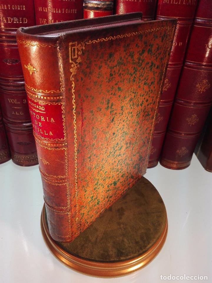 HISTORIA DE SEVILLA - ALONSO DE MORGADO - SEVILLA - IMPRENTA DE D. JOSÉ Mª ARIZA - 1887 - (Libros antiguos (hasta 1936), raros y curiosos - Historia Moderna)