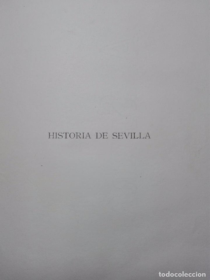 Libros antiguos: HISTORIA DE SEVILLA - ALONSO DE MORGADO - SEVILLA - IMPRENTA DE D. JOSÉ Mª ARIZA - 1887 - - Foto 3 - 104883023