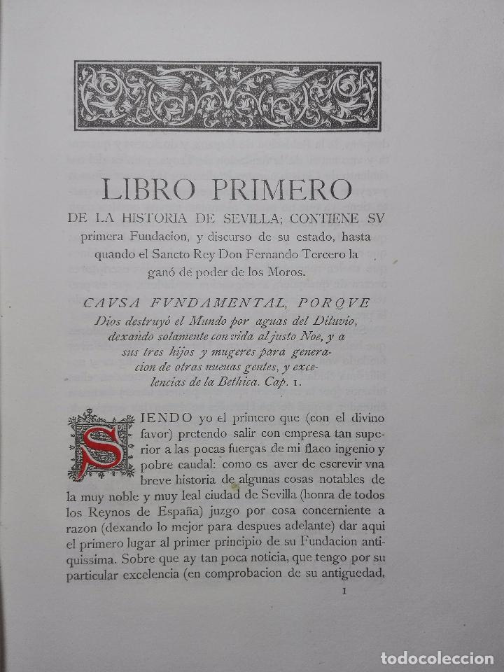 Libros antiguos: HISTORIA DE SEVILLA - ALONSO DE MORGADO - SEVILLA - IMPRENTA DE D. JOSÉ Mª ARIZA - 1887 - - Foto 5 - 104883023