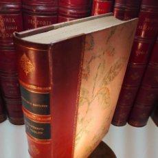 Libros antiguos: HISTORIA Y ARQUITECTURA DEL MONASTERIO DE POBLET - LUIS DOMENECH Y MONTANER - BARCELONA - 1927 - . Lote 104887687