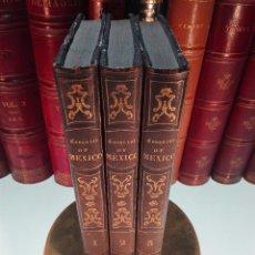 Libros antiguos: HISTORY OF THE CONQUEST OF MÉXICO - 3 VOLÚMENES - HERNANDO CORTÉS - WILLIAM H. PRESCOTT - 1844 -. Lote 105006703