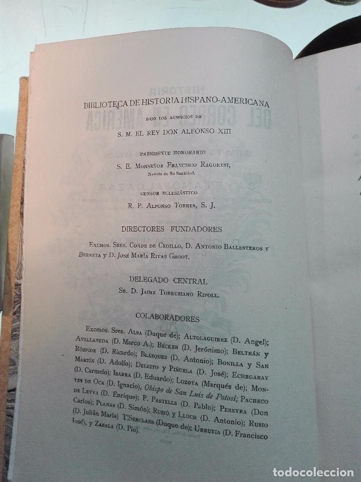 Libros antiguos: HISTORIA DEL CORREO EN AMÉRICA - NOTAS Y DOCUMENTOS PARA SU ESTUDIO - CAYETANO ALCÁZAR - MADRID-1920 - Foto 4 - 105234043