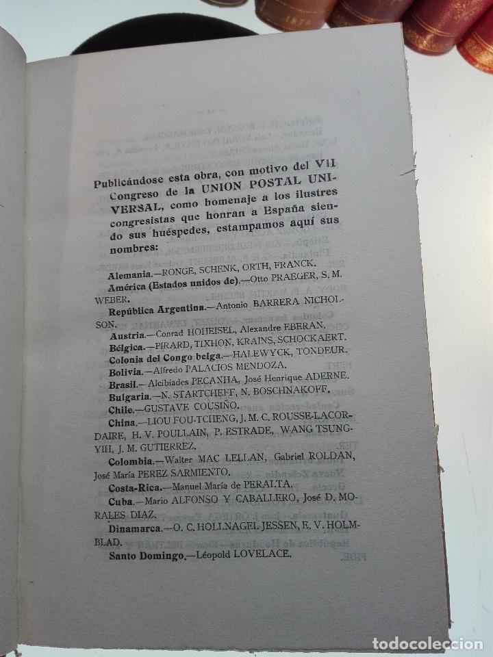 Libros antiguos: HISTORIA DEL CORREO EN AMÉRICA - NOTAS Y DOCUMENTOS PARA SU ESTUDIO - CAYETANO ALCÁZAR - MADRID-1920 - Foto 5 - 105234043