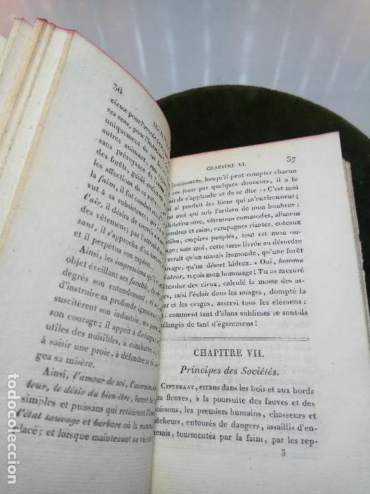 Libros antiguos: LES RUINES OU MÉDITATION SUR LES RÉVOLUTIONS DES EMPIRES - C.-F. VOLNEY - PARIS - BOSSANGE FRÉRES - - Foto 4 - 105716899