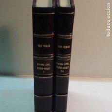 Libros antiguos: MARQUÉS DE SAN ROMÁN: GUERRA CIVIL DE 1833 A 1840. CAMPAÑAS DEL GENERAL ORÁA (2 TOMOS)(1896). Lote 106309855