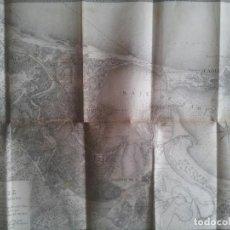 Libros antiguos: CADIZ 1823 GUERRA HISTORIA ESPAÑA CIEN MIL HIJOS MAPA PLANO MILITAR EJERCITO PIRINEOS MILITARIA. Lote 109064531