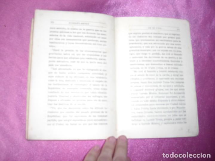 Libros antiguos: DE MI VIDA MEMORIAS POLITICAS I -1899- 1913 - RODOLFO REYES 1929 - Foto 8 - 109441775