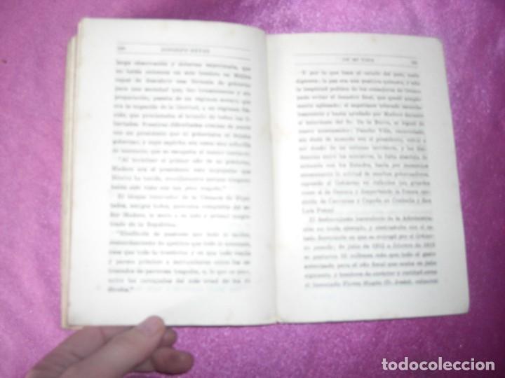 Libros antiguos: DE MI VIDA MEMORIAS POLITICAS I -1899- 1913 - RODOLFO REYES 1929 - Foto 9 - 109441775
