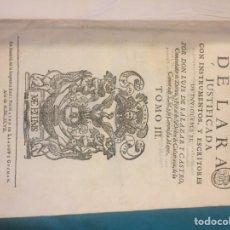 Alte Bücher - Historia genealógica de la casa de Lara por don Luis de Salazar y Castro tomo tercero - 110220235