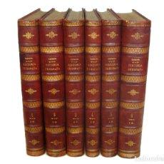 Libros antiguos: 1883 - MONUMENTAL HISTORIA DE ESPAÑA - LAFUENTE - 6 TOMOS DE 35 CM - GRABADOS DE NUMISMÁTICA - 20 K. Lote 110365643
