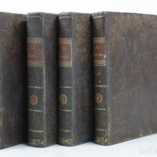 Libros antiguos: EUSEBIO, SACADA DE LAS MEMORIAS QUE DEJÓ EL MISMO, PEDRO MONTENGON, 1820, 4 VOL, BARCELONA.10,5X15CM. Lote 110626635
