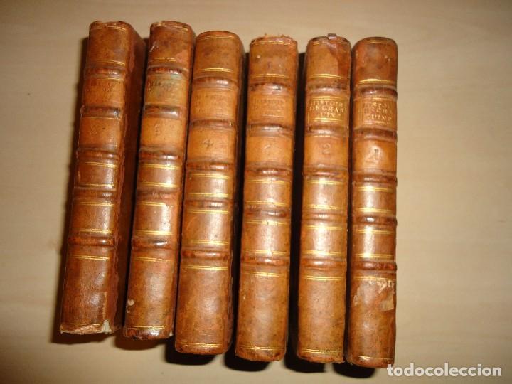 HISTORIA DEL REINADO DEL EMPERADOR CARLOS V - ROBERTSON - 1788 - 6 TOMOS (COMPLETO) (Libros antiguos (hasta 1936), raros y curiosos - Historia Moderna)