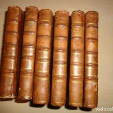 Libros antiguos: HISTORIA DEL REINADO DEL EMPERADOR CARLOS V - ROBERTSON - 1788 - 6 TOMOS (COMPLETO). Lote 110729535